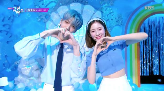 Netizenler Oh My Girl'den Arin'in 'Music Bank' İçin MClik Yaparken TXT - Soobin'e yaslanma Alışkanlığından Rahatsızlar