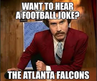 #nfl #falcons. -want to hear a football joke? the atlanta falcons.