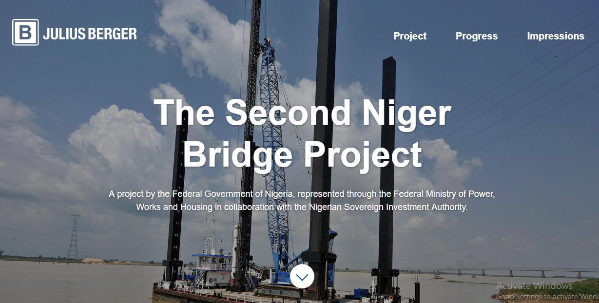 Second Niger Bridge Gets Website 1