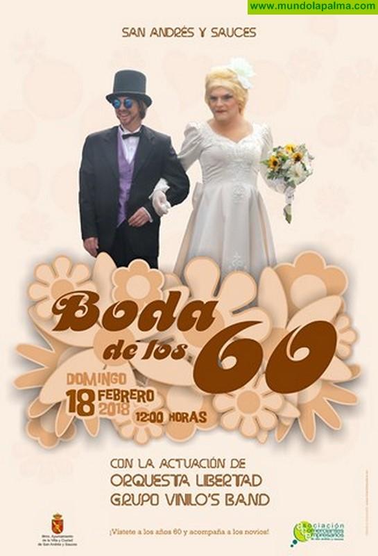San Andrés y Sauces celebra su Gran Boda Carnavalera de los años 60 este domingo