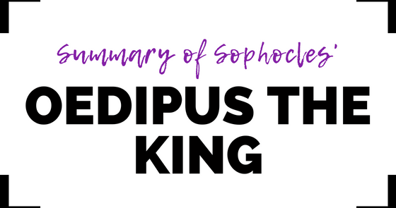 a comprehensive summary of oedipus the king by sophocles Visit wwwliteraturebookmixcom for more literature book audio reviews this is  an audio summary of oedipus the king by sophocles.