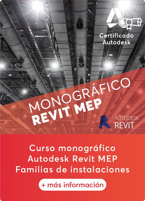 Curso de Autodesk Revit MEP Familias de Instalaciones Rendersfactory (Cursos online Arquitectura, Ingeniería y Construcción)