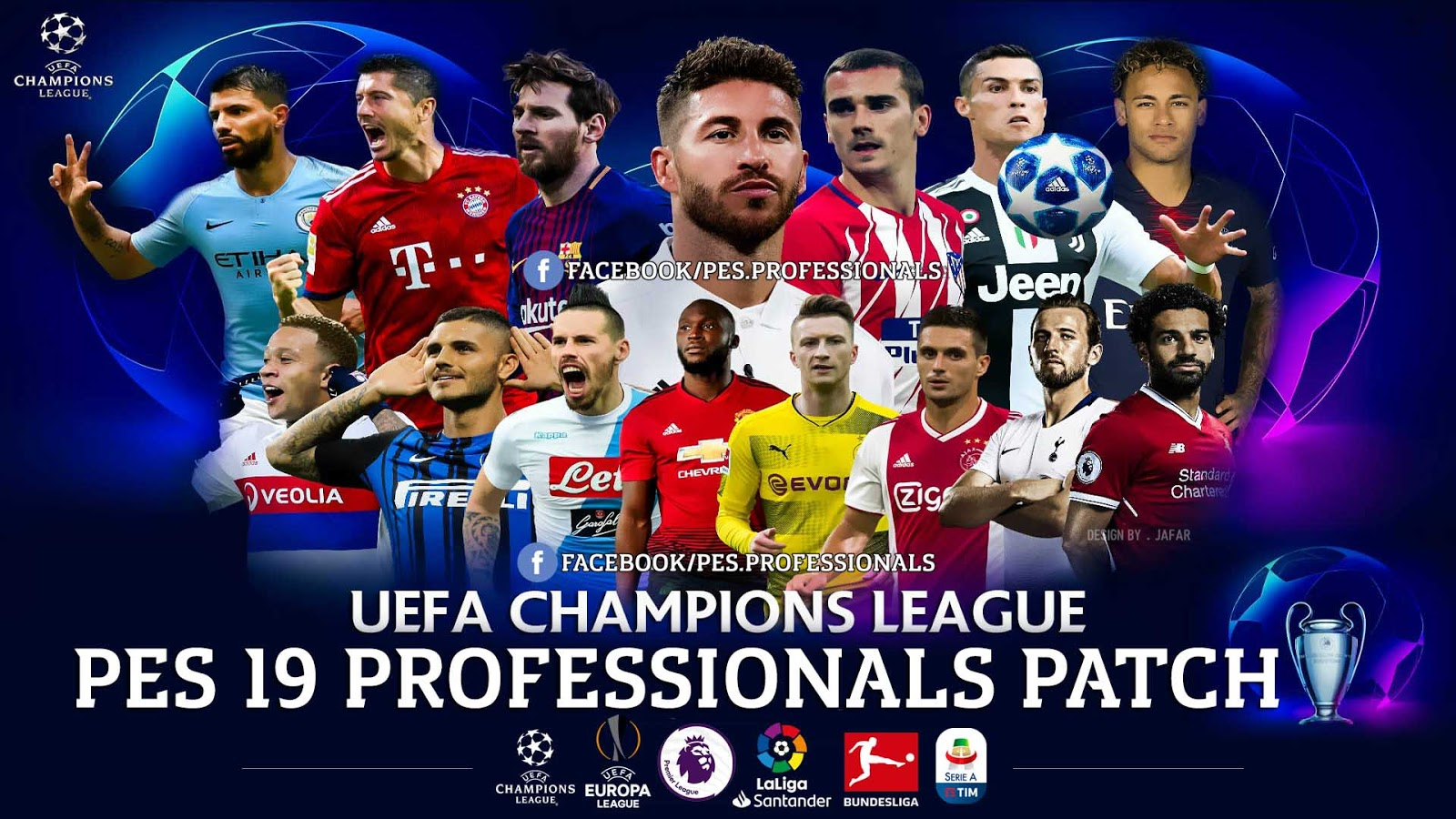 PES 2019 Professional Patch 2019 V2 1 Season 2018/2019