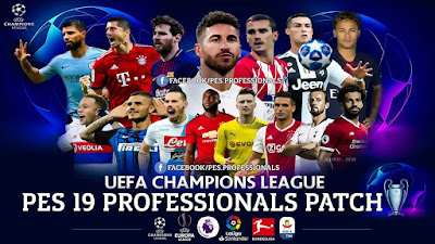 PES 2019 Professional Patch 2019 Season 2018/2019