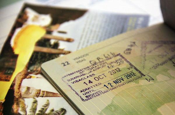Visa pour la Thaïlande