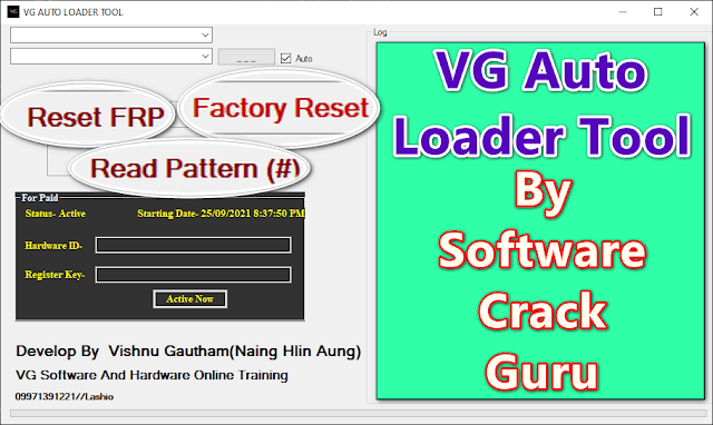 VG Auto Loader Unlock Tool Crack Version By Vishnu Gautham Free - 2021