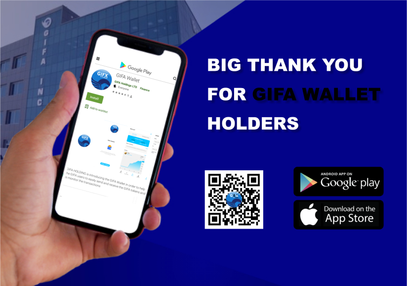 Big 'Thank You' For GIFA Token Wallet Holders!