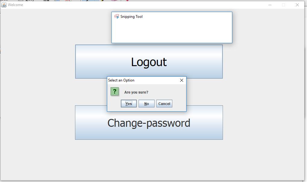 Login Application using Java Swing + JDBC + MySQL Example
