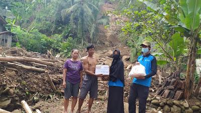 Lazismu Salurkan Bantuan ke Korban Bencana Alam di Wilayah Kecamatan Pituruh