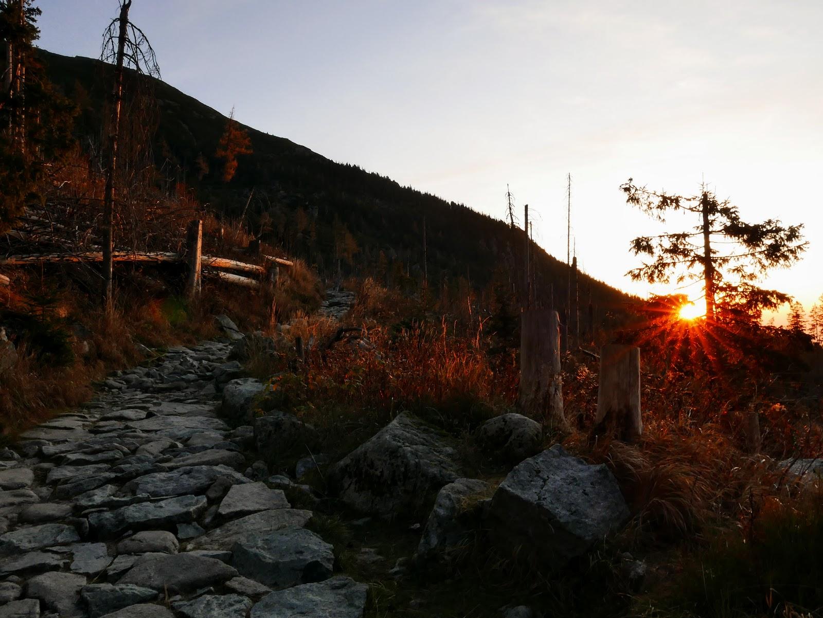 tatry wschód słońca