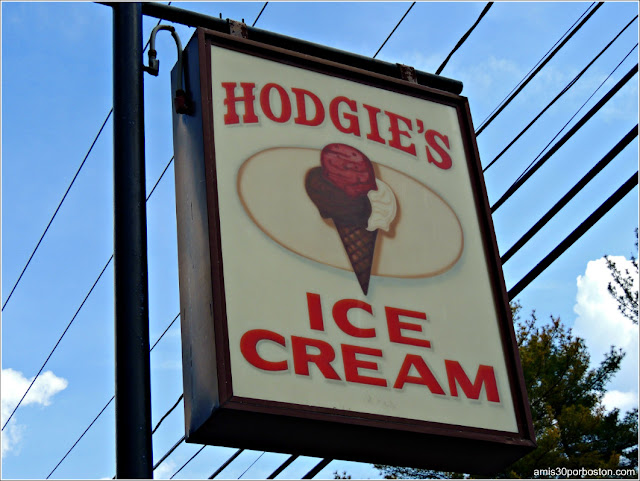 Granjas de Helados de Massachusetts: Hodgie's Ice Cream
