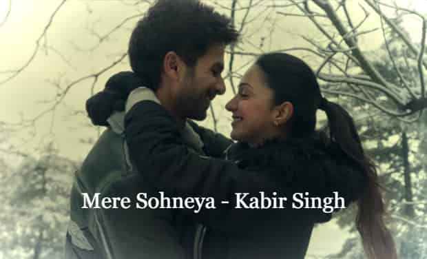 Mere Sohneya Lyrics - Kabir Singh
