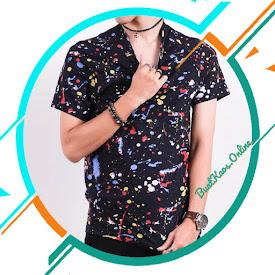 KAOS MOTIF BERCAK   POLOS TANPA MERK TREND CLOTHING BANDUNG <price>Rp48.000</price> <code>#kaosabstrak</code>
