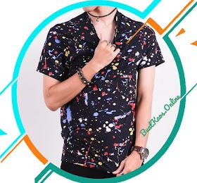 KAOS MOTIF BERCAK | POLOS TANPA MERK TREND CLOTHING BANDUNG <del>Rp65.000</del> <price>Rp48.000</price> <code>#kaosabstrak</code>