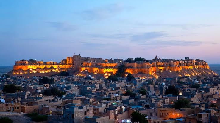 Rajasthan Ke Durg in Hindi