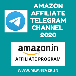 Join Amazon Affiliate Telegram Channel Link