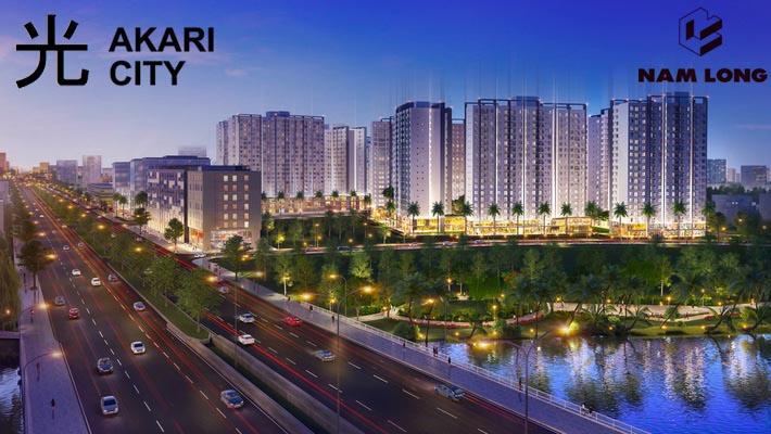 Phối cảnh căn hộ Akari Bình Tân