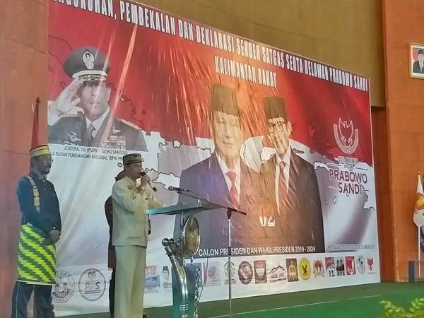 150 Kerajaan di Nusantara Galang Dukungan ke Prabowo - Sandi