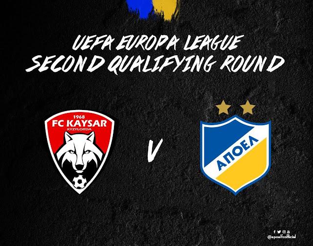 Σοβαρό εμπόδιο η Καϊσάρ Καζακστάν «FC Kaysar Kyzylorda - APOEL FC, #UEL 2ndQR»