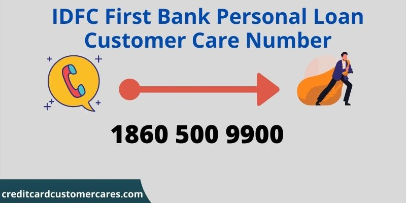 IDFC First Bank Personal Loan Customer Care Number
