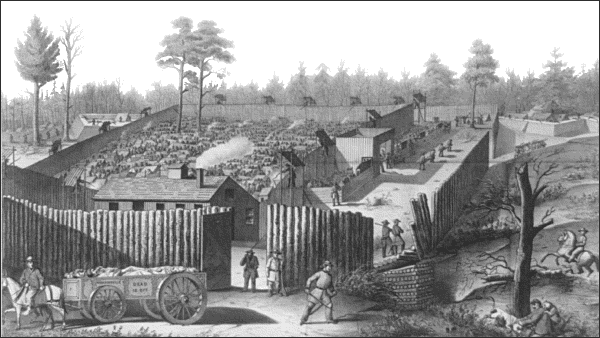 Andersonville Prison image from WPclipart.com