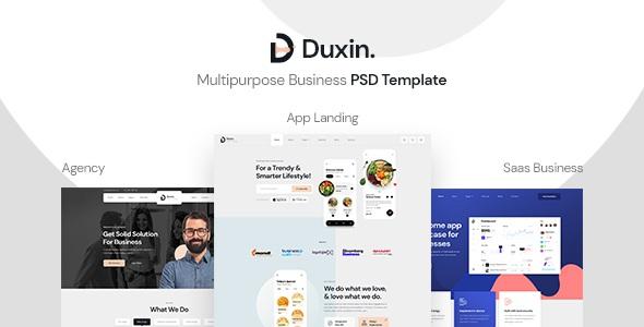 Best Multipurpose Business PSD Template