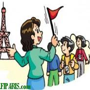 fi paris المرشدين السياحيين في باريس