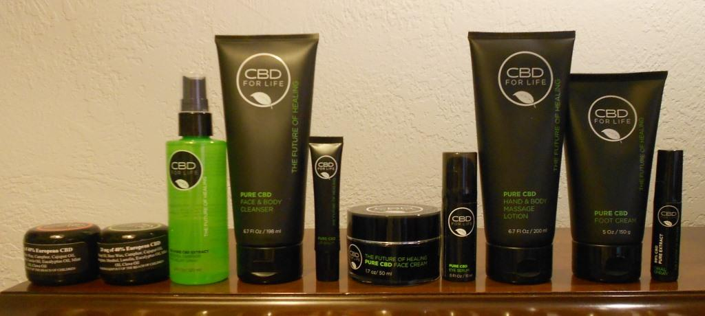 CBD for Life products line
