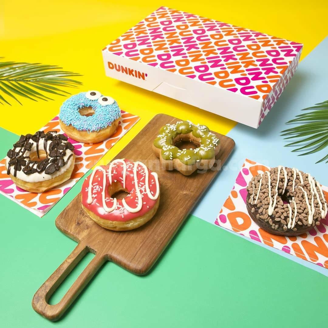 Promo Dunkin Donuts Terbaru 6 - 10 September 2021