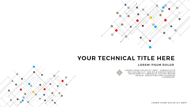 Infographic Linear Technical Title Free PowerPoint Template Slide 2