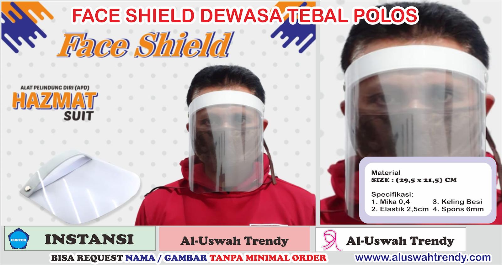 Face Shield Untuk Dewasa