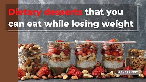 Dietary desserts that you can eat while losing weight