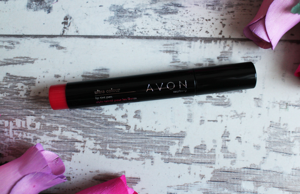 Avon Ultra Colour Lip Tint Pen in Raspberry