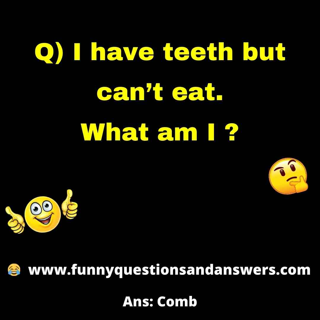 Funny tricky quiz questions and answers