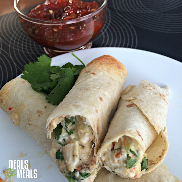 $10 meal, Deals to Meals, taquitos, simple meal, great chicken dish, Recipe:  Chicken,