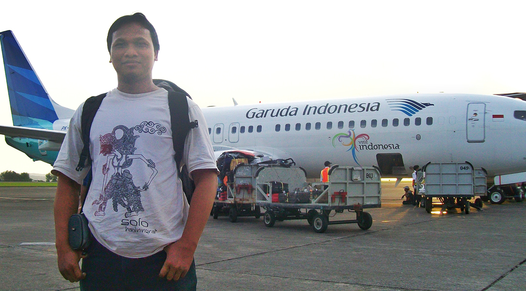 First Flight | Garuda Indonesia | Asean Blogger | Bang Aswi