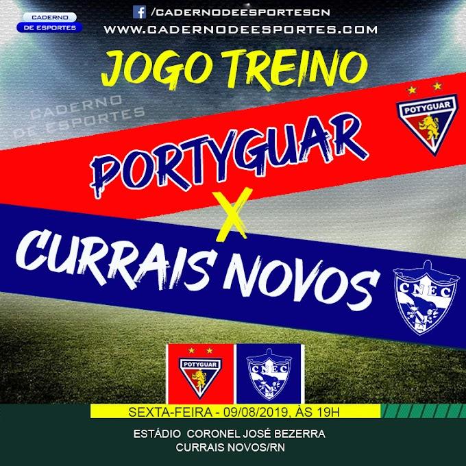 Currais Novos e.c. faz jogo treino contra o sub 21 do Potyguar-cn