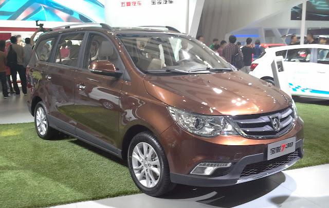 Baojun 730 tahun 2014