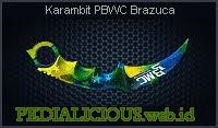 Karambit PBWC Brazuca