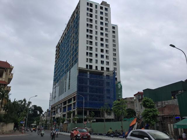 Phá dỡ tòa nhà 8b lê trực