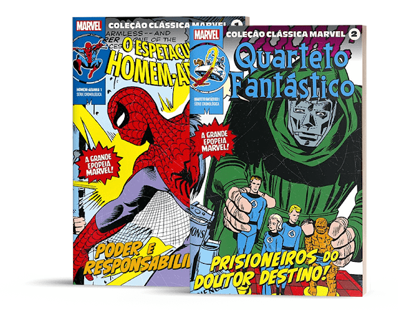 Lançamento: os 60 volumes da Coleção Clássica Marvel pela Panini