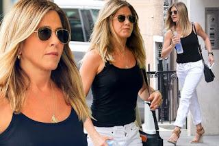 Jennifer Aniston denies pregnancy