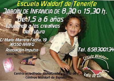 Educando a los creativos del futuro EWT Círculo Waldorf Valle de Güímar-Canarias