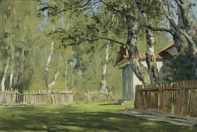 Исаак Ильич Левитан - Солнечный день. 1898