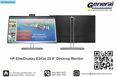"HP EliteDisplay E243d 23.8"" Docking Monitor"