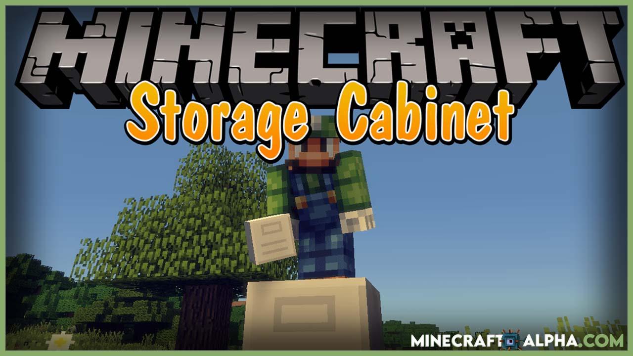 Storage Cabinet Mod 1.17.1 (270 Slots Cabinet)