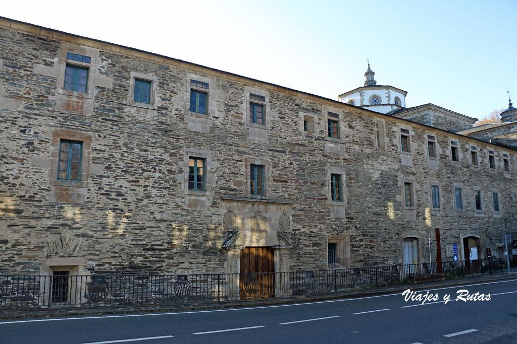 Exterior del Monasterio de Samos, Lugo