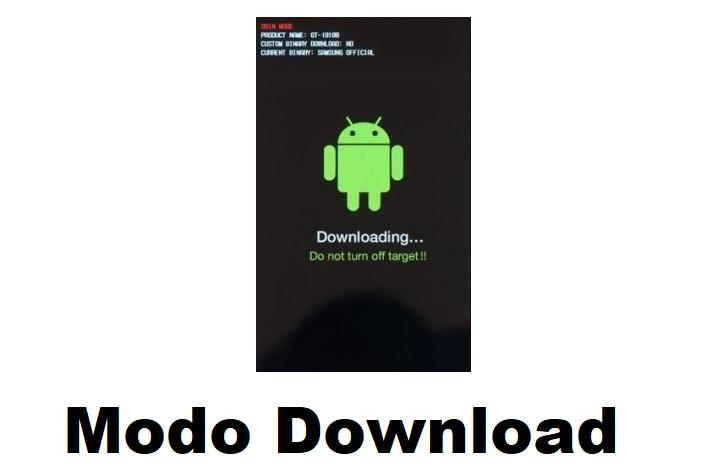 como entrar en modo download Samsung