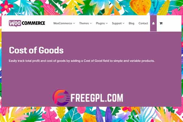 WooCommerce Cost of Goods Free Download