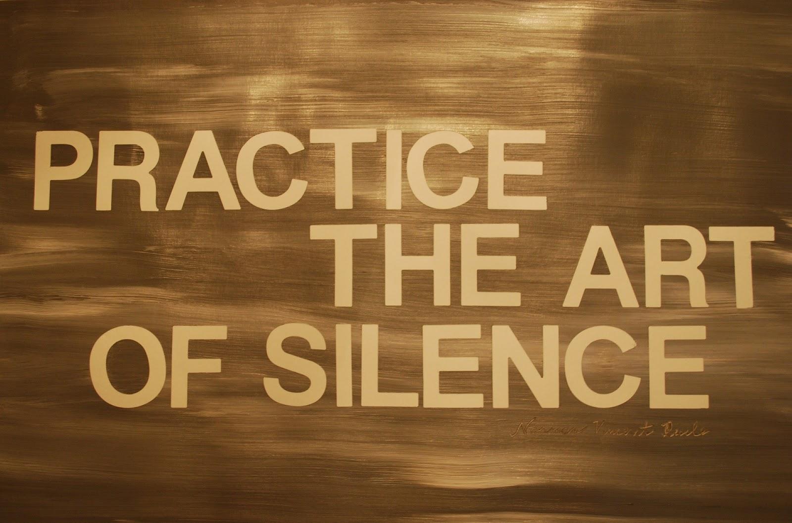 S = SILENCE